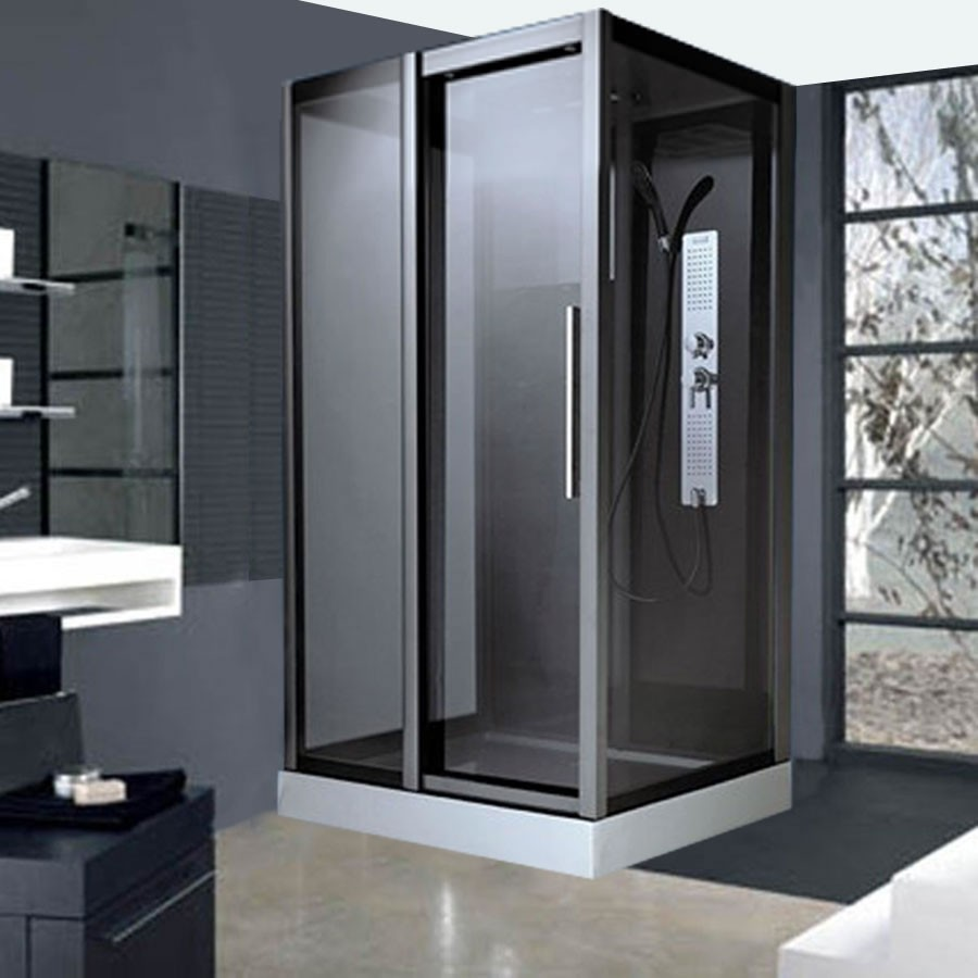 cabine de douche avec sige intgr good visite de l tage le blog de lydie cabine de douche avec. Black Bedroom Furniture Sets. Home Design Ideas